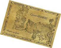 Game Of Thrones Antique Maps Poster Print