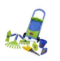 Junior Gardening Trolley Play Set Garden Hand Tools with