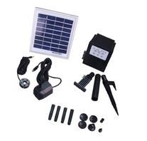 Garden Sun Light APP012B 3 Watt Solar Panel with Water Pump