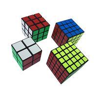 Geepro 2x2,3x3x3,4x4x4,5x5x5 Speed Magic Wrist Puzzle Cube