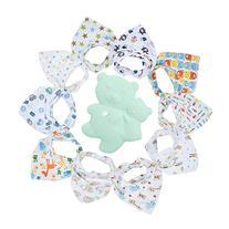 Gemini Fairy Baby Bandana Drool Bibs, Unisex 10-pack
