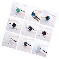 Gemstone Stacking Ring, Natural Gemstone Ring, Engagement