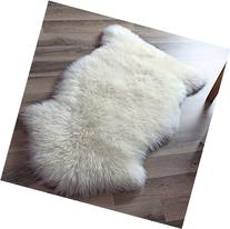 Super Area Rugs, Genuine Australian Sheepskin Rug One Pelt