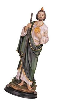 George S. Chen Imports 12-Inch Saint Jude Holy Figurine