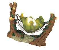 George S. Chen Imports SS-G-61047 Frog On Hammock Garden