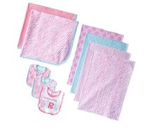 Gerber Baby-Girls Newborn Love 9 Piece Feeding Essential