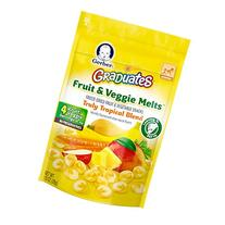 Gerber Graduates Fruit and Veggie Melts, Truly Tropical