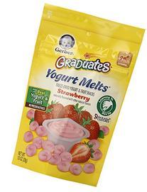 Gerber Graduates Yogurt Melts, Strawberry, 1 Ounce