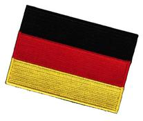 Germany Flag Embroidered Patch German Iron-On National