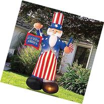 Giant Airblown Uncle Sam Yard Decoration - Inflatable July