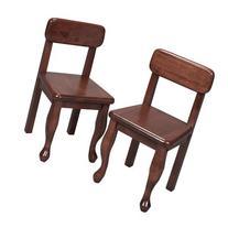 Gift Mark Queen Anne Children's Chair Set, Cherry