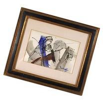 Gino Hollander, untitled 1, Acrylic and Mixed Media Drawing