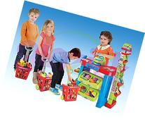Ginzick Super Fun Kids Supermarket Playset