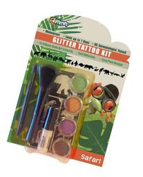 Glimmer Body Art SAFARI Glitter Tattoo Kit