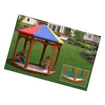 Gorilla Playsets Play-Zee-Bo Covered Sandbox
