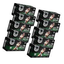 Gorilla Supply 1000 Vinyl Gloves M Case Powder FreeLatex