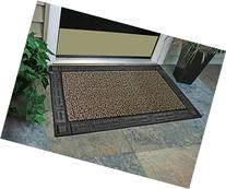 "GrassWorx Clean Machine Omega Doormat, 24"" x 36"", Earth"