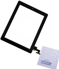 Group Vertical® Black Touch Screen Digitizer Assembled with