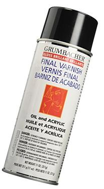 Grumbacher Picture Gloss Varnish for Picture and Oil &