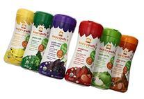 HAPPYBABY Organic Puffs Sampler , 60g each