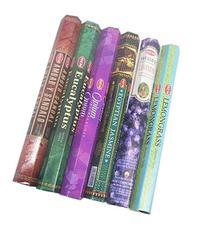 HEM Incense Sticks Best Sellers 6 Boxes X 20 Grams, Variety