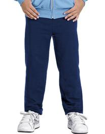 Hanes Youth ComfortBlend EcoSmart Sweatpants, Navy, Medium