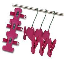 """Hangerworld Clip Pants Skirt Coat Hanger 11"""" ideal for Baby"""