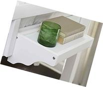 Hanging Nightstand in White