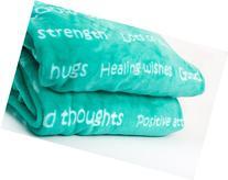 BlankieGram Healing Thoughts Blanket The Ultimate Healing