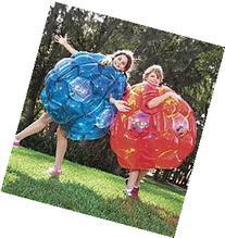 Blue Bright Lights BBOP Buddy Bumper Ball Confetti Filled