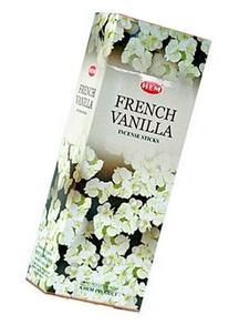 Hem French Vanilla Incense, 120 Sticks Box