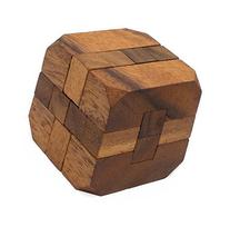 Hidden Passage: Handmade & Organic 3D Brain Teaser Wooden
