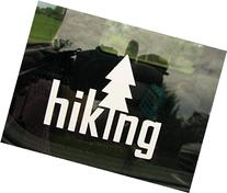 Hiking Vinyl Decal