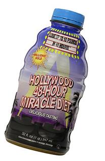 Hollywood Miracle Diet 48-Hour Diet, Natural Drink-Fruit