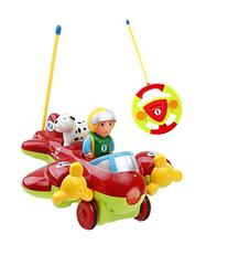 Holy Stone RC Cartoon Airplane Remote Control Plane for Baby