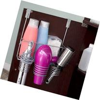 Home Basics HH30622 Over The Counter Hairdryer Holder