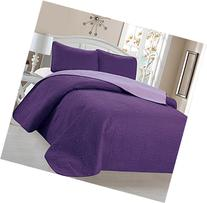 Home Sweet Home Victoria Design Reversible 3 PC Quilt
