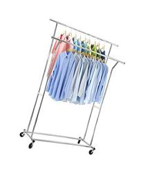 Home-it Double clothes rack heavy duty commercial grade