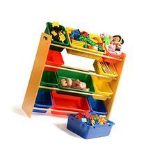 Home-it Toy organizer with bins you get Toy Storage Bins