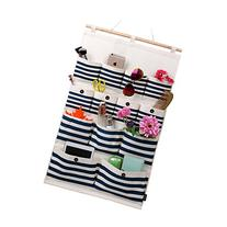 Linen/Cotton Fabric 13 Pockets Wall Door Closet Hanging