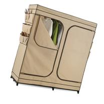 "Honey-Can-Do 60"" Double Door Storage Closet with Shoe"