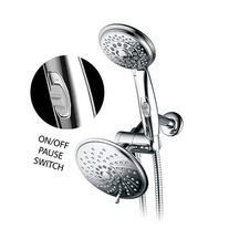 HotelSpa 30-Setting 3-Way Spiral Rainfall Handheld Shower
