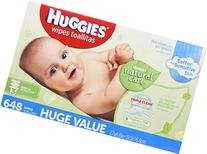 Huggies Natural Care Baby Wipes, Refill, 648 ct, Fragrance