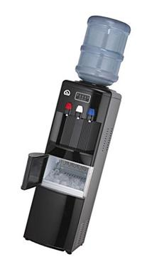 Igloo Water Cooler/Dispenser with Ice Maker, Black