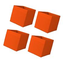 Ikea Drona Storage Bins  Orange Fits Kallax, Expedit Fabric