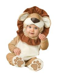 InCharacter Costumes Baby's Lovable Lion Costume, Brown/Tan/