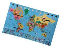 IncStores Large 60 Piece World Map Interlocking Foam Playmat