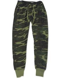 Indera - Mens Thermal Camouflage Long John Pant 812DR,Large,