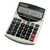 Innovera : 15966 Compact Desktop Calculator, 12-Digit LCD