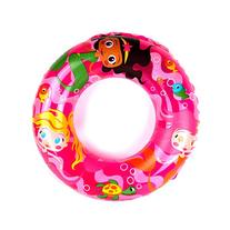 "Intex 24"" Sea Buddies Inflatable Swim Ring - Pink Mermaids"